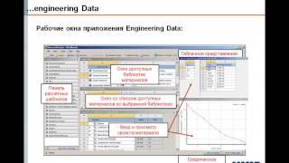 Видеоурок CADFEM VL1101 - Модели материалов в Engineering Data ANSYS Workbench ч.1