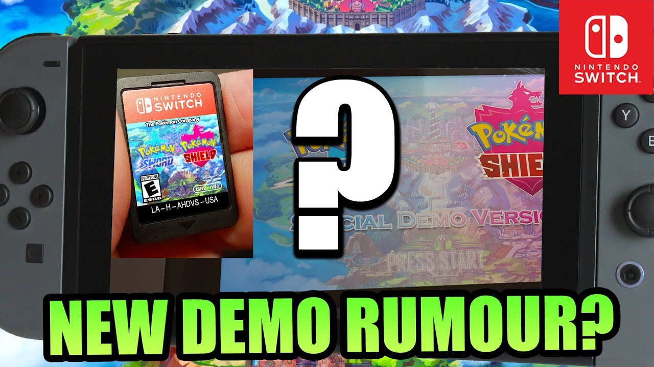 Demo For Pokemon Sword And Pokemon Shield Rumour Suggests 54 New