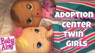 Baby Alive Adoption center bringing home 2 more babies giveaway coming soon