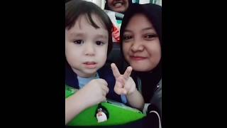 William and Bentley The Return Of Superman (Sam Hammington Family) in the Airport Bali