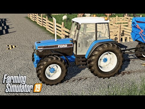 FORD AND THE FARM TRACK - Let's Play Farming Simulator 19 | Episode 38 thumbnail