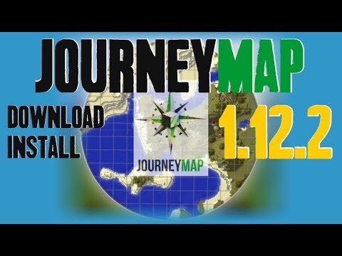 JOURNEYMAP MOD Minecraft How To Download And Install - Journey map para minecraft 1 10 2