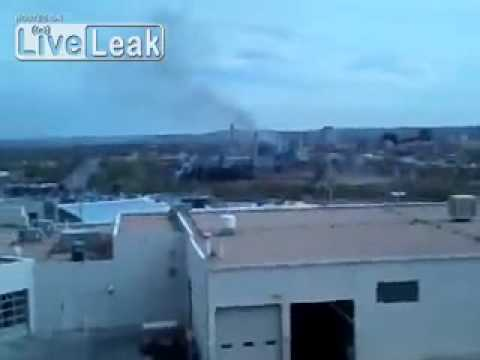 DRAKE POWER PLANT BURNS IN COLORADO SPRINGS 1 WEEK AFTER FAILED DECISION TO ELMINATE FOR THE CITY