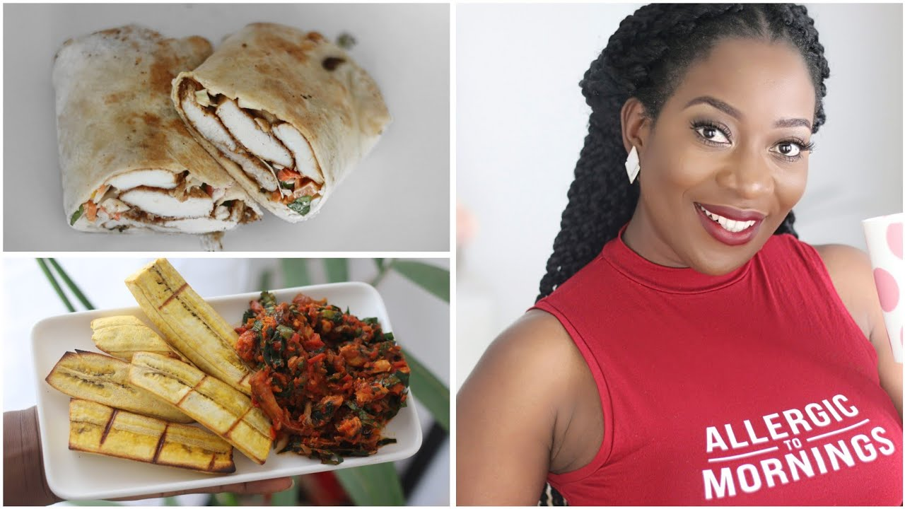 What I Eat In A Day   To Lose Weight   Nigerian Diet - YouTube