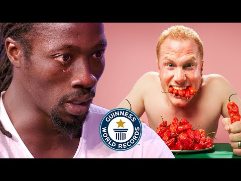 Ghost Pepper Chilli Showdown - Guinness World Records