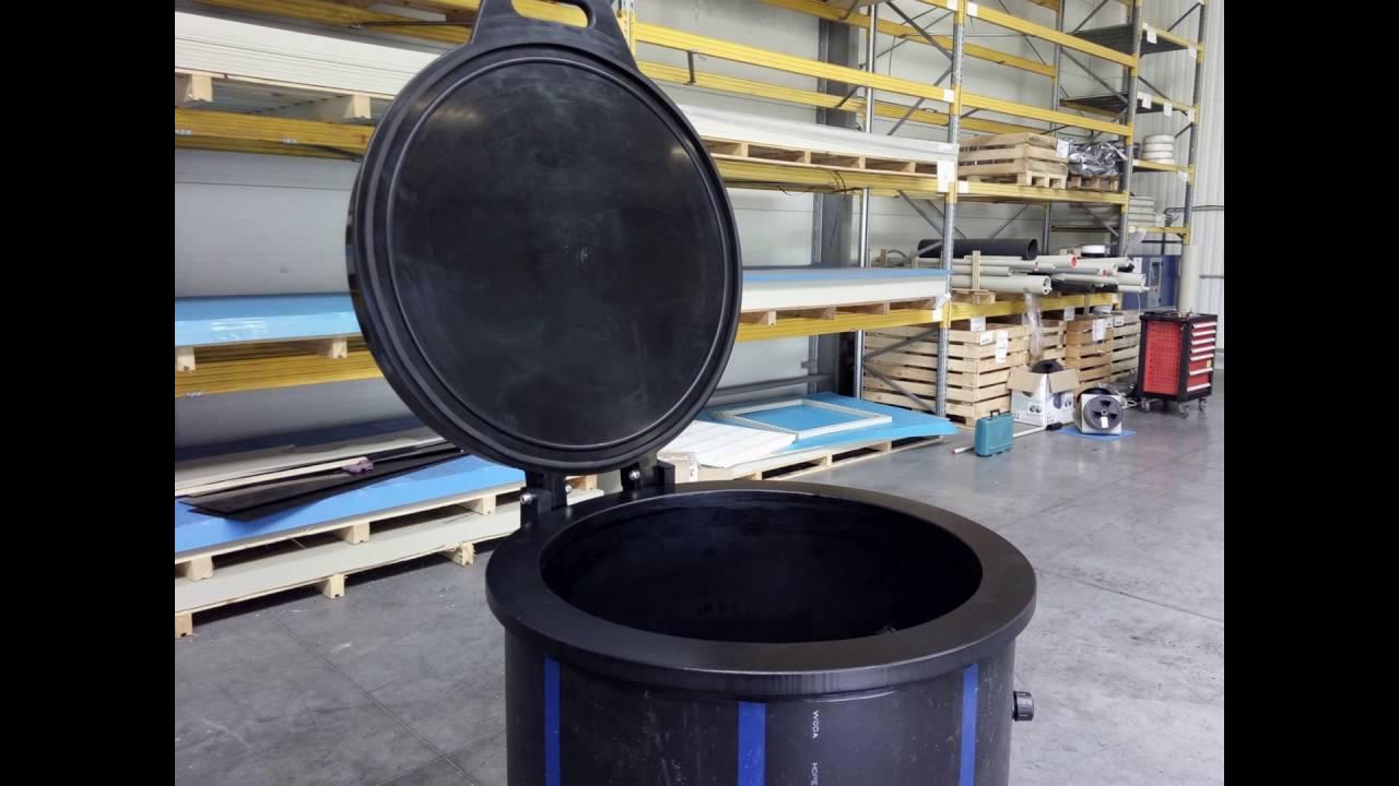 Topnotch Podciśnienie zbiornik z tworzywa polimery polietylenowy NN44