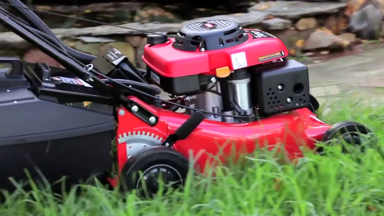 Rover Regal Self Propelled Key Start Lawn Mower Youtube