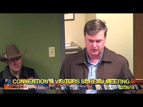 CONVENTION & VISITORS BUREAU MEETING FEB. 26th, 2018