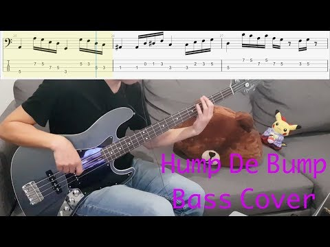 Red Hot Chili Peppers  Hump de Bump Bass  with tab