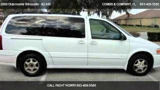2000 Oldsmobile Silhouette Premiere - for sale in Lakeland, FL 33813