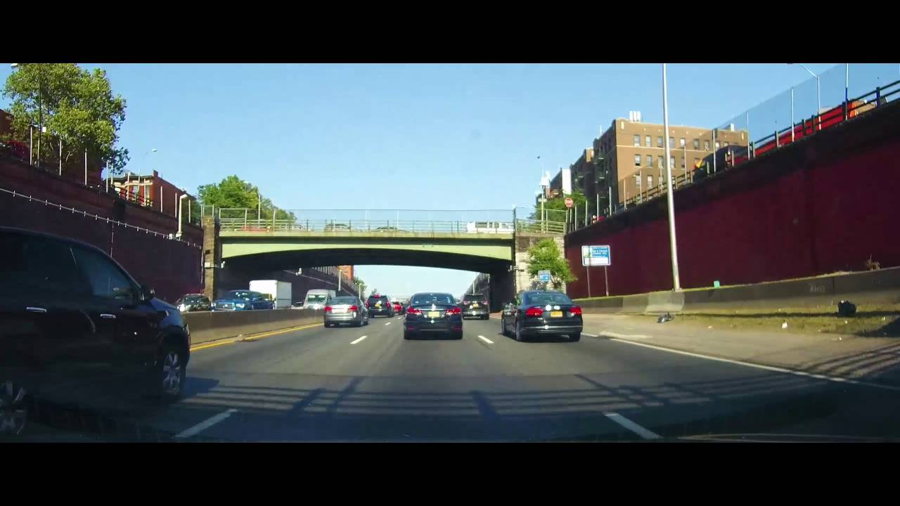 Driving On The Cross Bronx Expressway In New York City Youtube