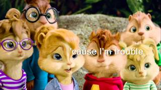 Alvin and The Chipmunks - Trouble (Karaoke)