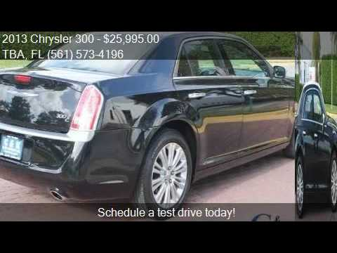 2013 chrysler 300 c john varvatos luxury edition awd 4dr. Black Bedroom Furniture Sets. Home Design Ideas
