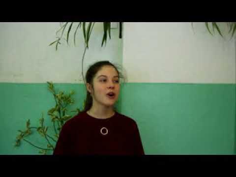 Изображение предпросмотра прочтения – ЕлизаветаЧеснокова читает произведение «Птицы смерти в зените стоят» А.А.Ахматовой