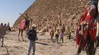 Египет. Каир. Нил. Пирамида Хеопса. Африка.(Каир весной 2007 года. Нил. Пирамиды. Египет. Национальный музей. Музей папируса., 2012-02-25T20:10:40.000Z)