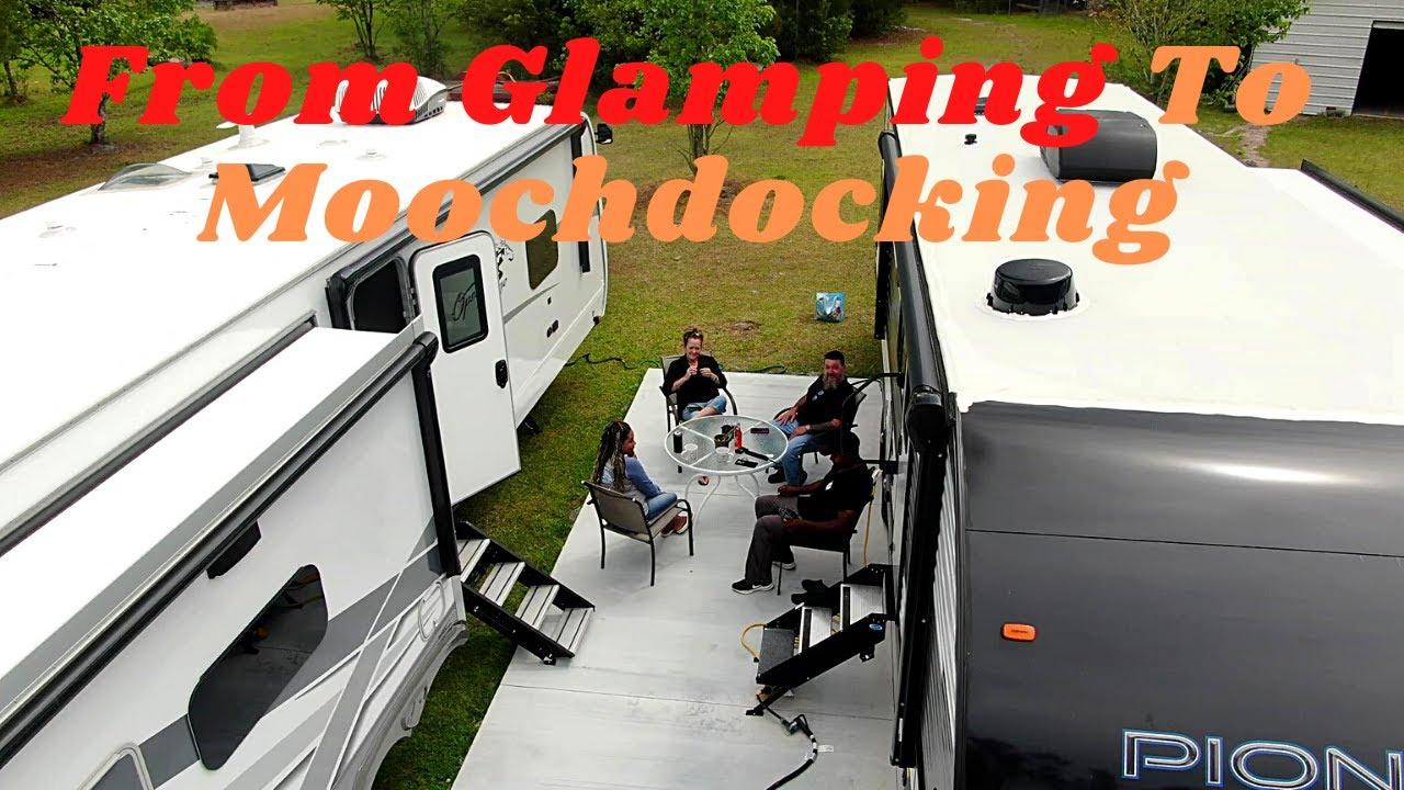 From Glamping To Moochdocking /Boondocking #TamarakMarketplace
