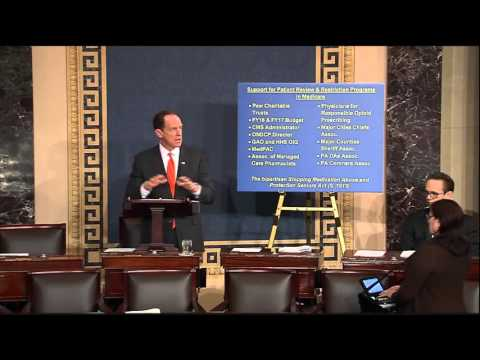 Toomey Calls for Action on Bipartisan Bill to Treat Addiction and Save Lives