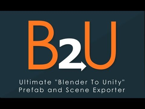 B2U Tutorials - HOW TO - Cycles Materials to Unity