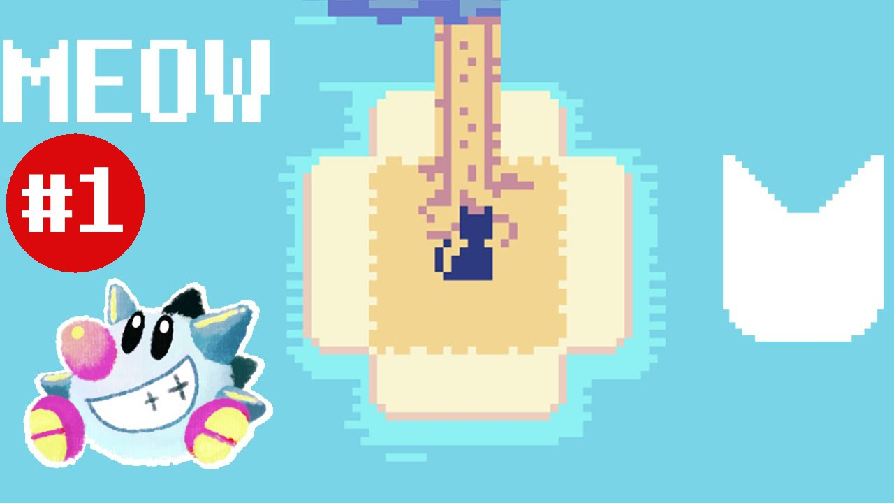 Let's Play ᗢ (Meow) (1): Pixel Kitty Exploration Game