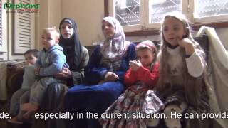 May I please say a word - The story of a Syrian Family