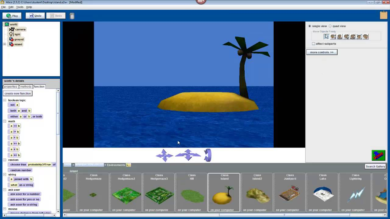 Shark attack an introduction to programming in alice 1 for How much is a fishing license in new mexico