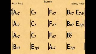 Sunny (funk) - Backing track / Play-along