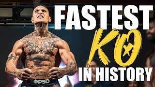 World Record | Fastest KO in History!! BKFC 14: Uly Diaz vs. Donelei Benedetto