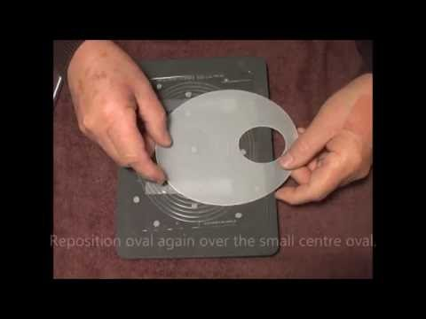 55 PCA-Parchment Craft EasyCut Ovals & Circles template demo!