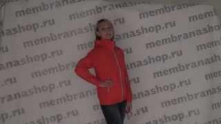 MembranaShop.ru: Didriksons Lola подростковая куртка для девушки на весну арт. 545120 270 малина