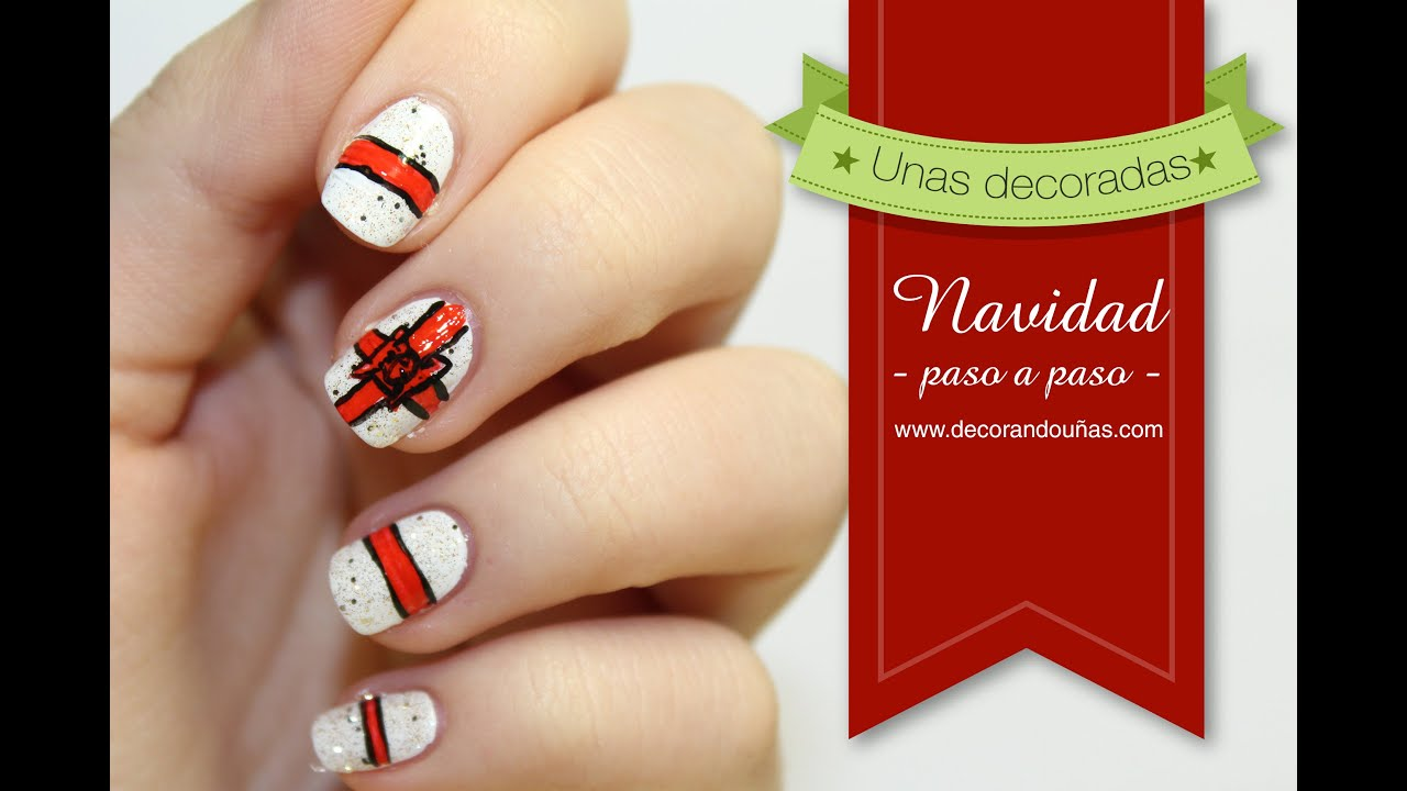 U as decoradas para navidad paso a paso youtube for Decoracion navidena 2016 unas
