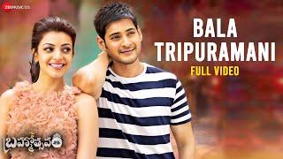 Bala Tripuramani - Full Video | Brahmotsavam | Mahesh Babu | Kajal Aggarwal | Mickey J Meyer