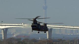 2018年10月2日に木更津駐屯地で撮影した陸上自衛隊CH-47Jチヌークの動画...