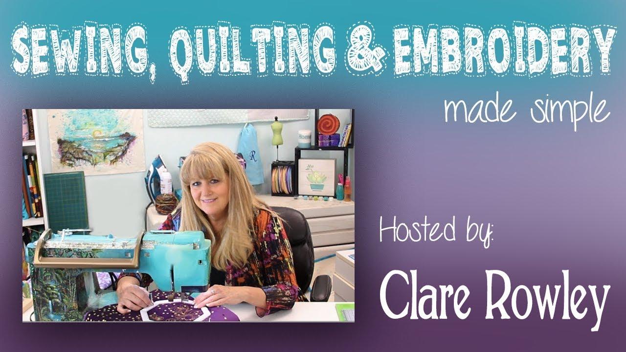 Clare Rowley Creates logo