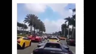 Traffic in Dubai Cars