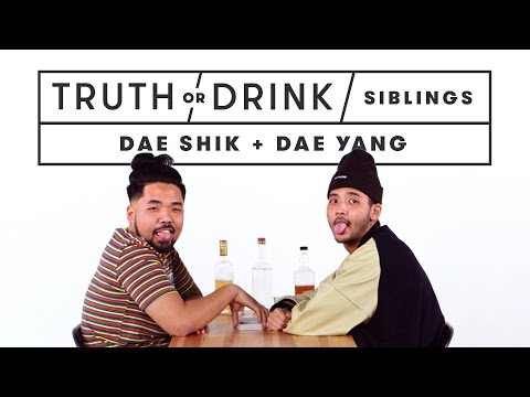 Brothers Play Truth or Drink (Dae Shik & Young Dae) | Truth or Drink | Cut