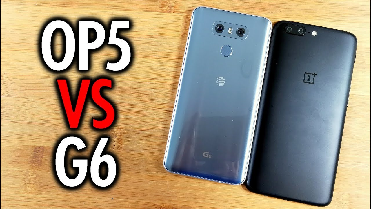 OnePlus 5 vs LG G6: How much do price cuts matter? | Pocketnow