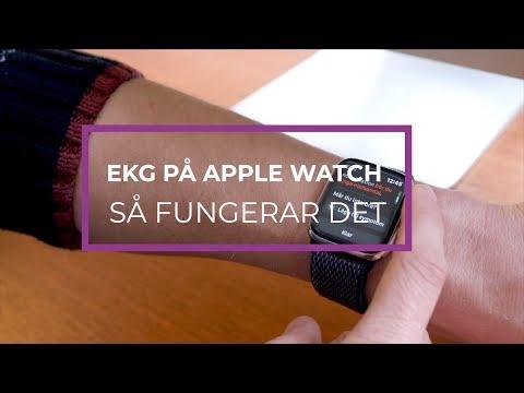 Ta din EKG med Apple Watch - Nu fungerar det i Sverige!