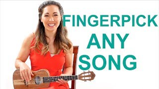Fingerpick Any Song on the Ukulele for Beginners - Easy Fingerpicking Exercises