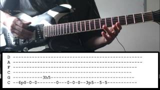 Bring Me The Horizon - Happy Song - Guitar Lesson