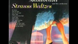 Wine, Women and Song (Johann Strauss, Jr.) - Mantovani and His Orchestra