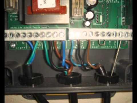 4 Wire Arduino Diagram Garage Door Installation Remote Control Youtube