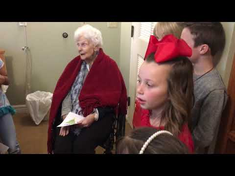 Spring Hill Primary Christmas Caroling