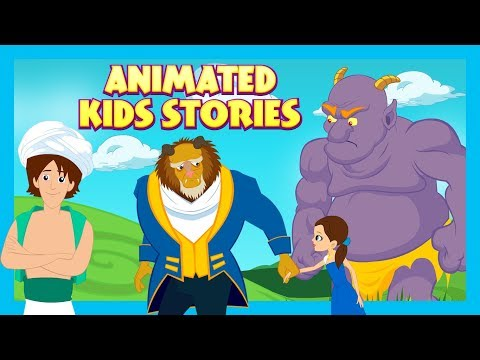 animated-kids-stories---the-selfish-giant,-the-beauty-&-the-beast-and-aladdin--kids-hut-storytelling