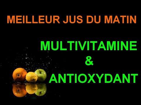 LE MEILLEUR JUS DU MATIN : MULTIVITAMINE & ANTIOXYDANT