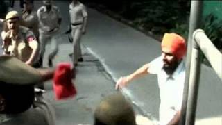 Terrorist slapped while being taken into Chandigarh court