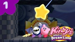 Kirby's Return to Dreamland: Extra Mode - LONGPLAY 100%(Part 1)