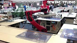 자동화 미싱/로봇 봉제/자동화 재봉기/robot sew…