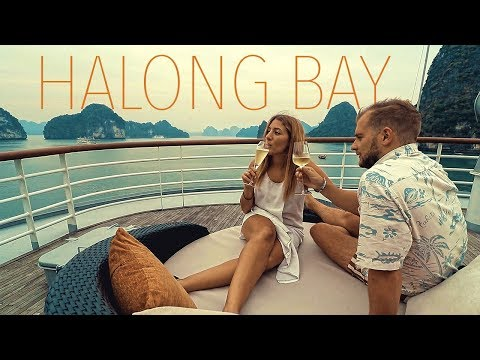 INCREDIBLE HALONG BAY CRUISE ❲VLOG 57❳