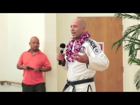 Presidential Lecture Series - Royce Gracie