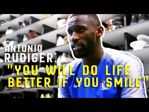 """""""You Will Do Life Better If You Smile!""""   Exclusive Antonio Rudiger Interview"""